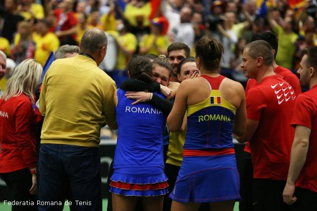 românia, în semifinalele fedcup