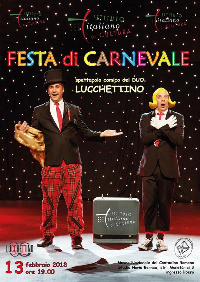carnevale italiano a bucarest