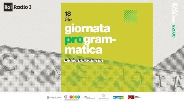 settimana lingua italiana: giornata programmatica su rai radio 3