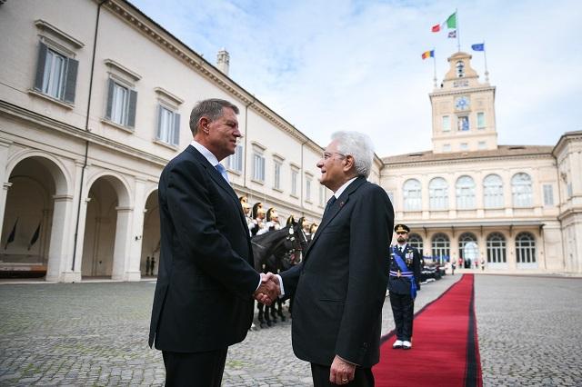 conversazione iohannis-mattarella, la presidenza romena veste i colori della bandiera italiana