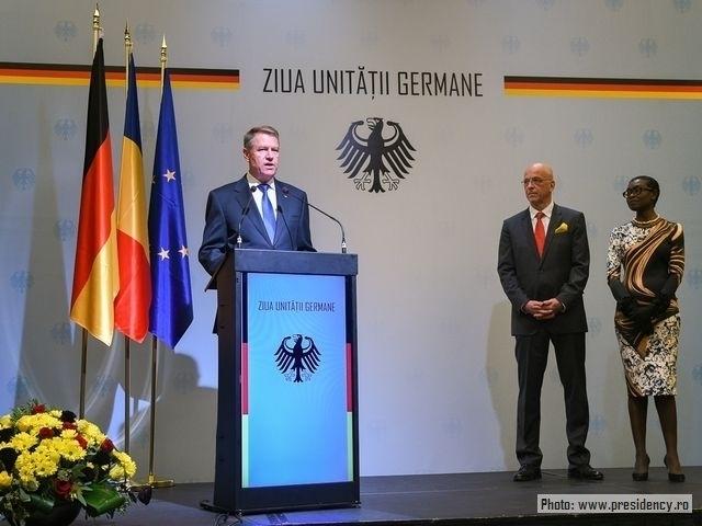 Про відносини Бухарест-Берлін, з нагоди Дня німецької єдності
