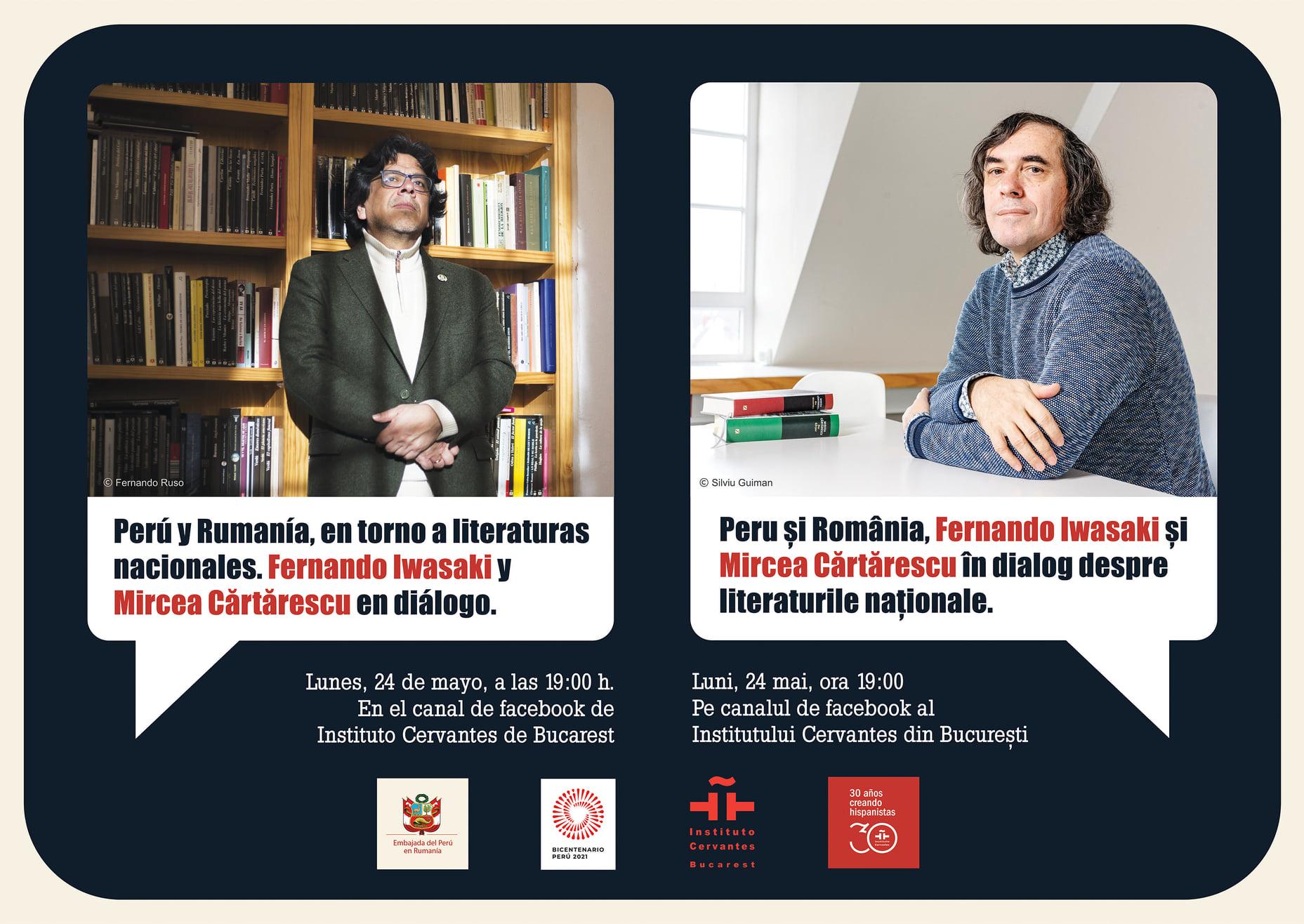 dialogo-entre-escritores-fernando-iwasaki-y-mircea-cartarescu