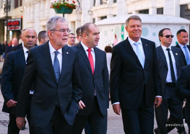 رومانيا - بلغاريا - النمسا، نقاشات حول مستقبل أوروبا