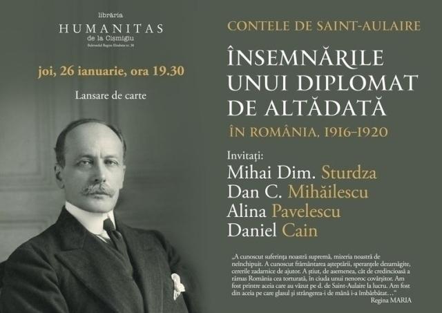 Иностранные дипломаты в Румынии. Граф де Сент-Олэр