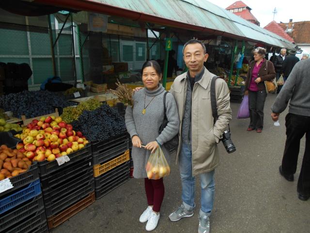 2018年1月12日:热爱罗马尼亚的刘法健先生与黄玲萍女士