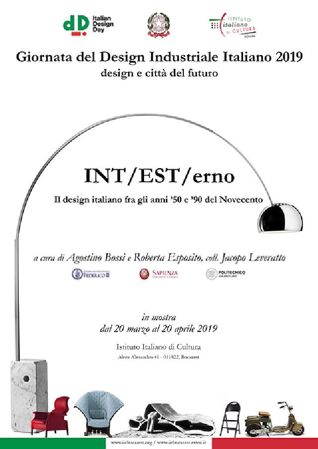 il design italiano, in mostra all'istituto italiano di cultura di bucarest