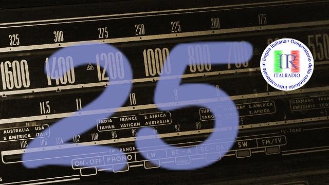 25/o anniversario di italradio