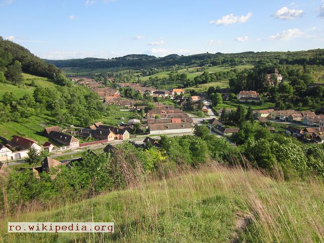 Мелинкрав - село трансільванських саксів