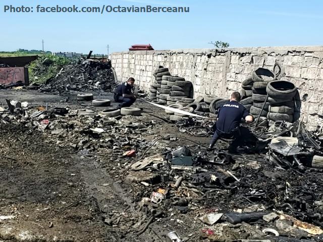 Незаконний імпорт сміття в Румунію