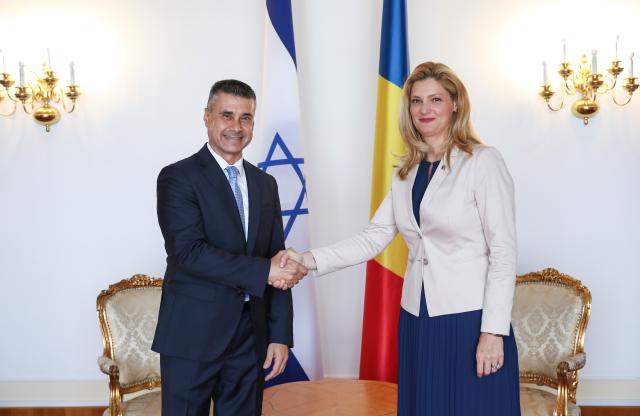 שר החוץ הרומני קיבל את שגריר ישראל בבוקרשט