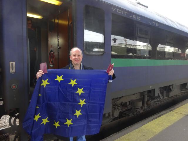 مارك بيرتشيفال: مواطن روماني من أصول إنكليزية