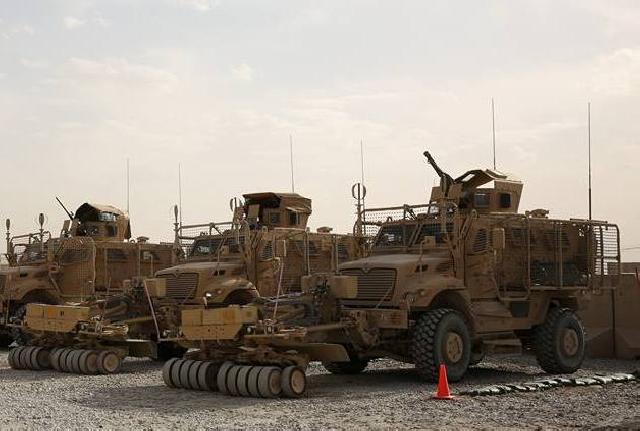 جنود رومانيون مصابون بجروح في أفغانستان