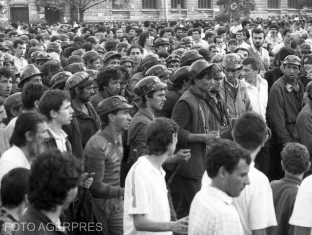 di nuovo sulla marcia dei minatori del 13-15 giugno 1990