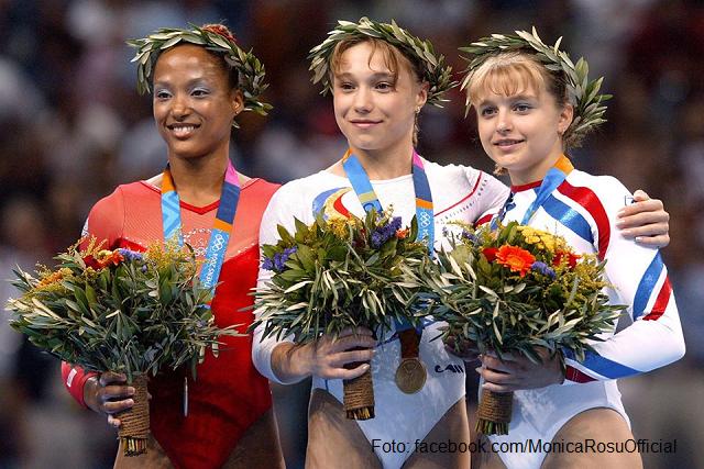 Румыния на Олимпийских играх - гимнастка Моника Рошу