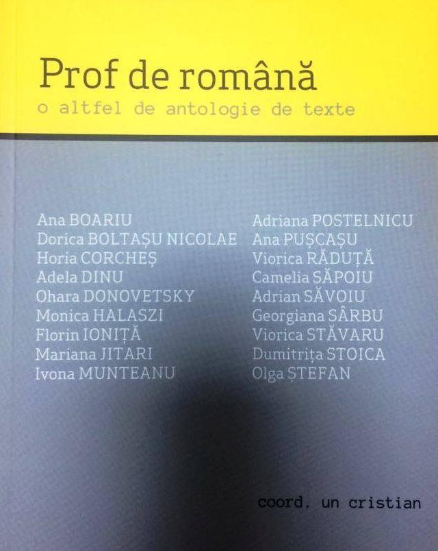 Викладач румунської- інакша антологія текстів