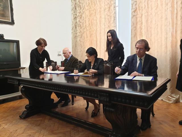 הסכם לשיתוף פעולה ללימוד ההיסטוריה ולהבנת השואה