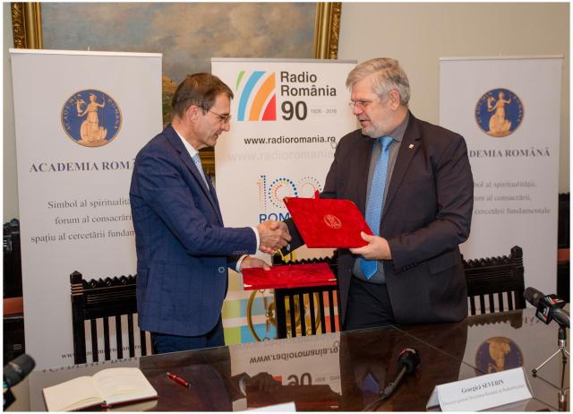 protocollo di collaborazione tra radio romania e l'accademia romena