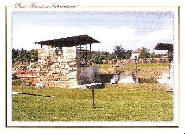 qsl iulie 2018 - ruinele castrului roman din alba iulia
