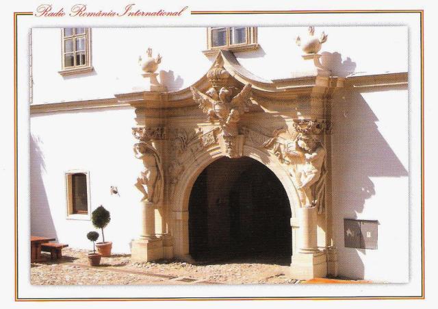 qsl septembre 2018 - le 4e portail d'entrée dans la forteresse d'alba iulia