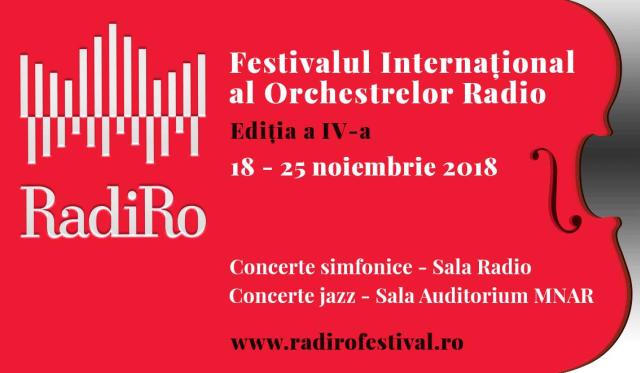 radiro 2018: nuovo festival delle orchestre radiofoniche a bucarest