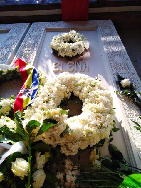 שרידיה של המלכת האם אלנה הוחזרו לרומניה