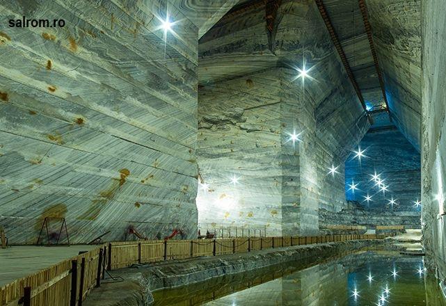 2019年3月24日:罗马尼亚兼带旅游业的盐矿