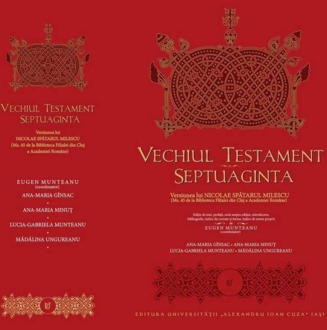 la prima traduzione romena dell'antico testamento