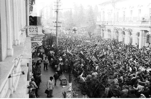 الثورة  الرومانية المناهضة للشيوعية