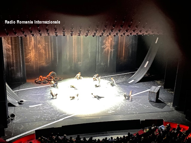 europalia:  traces di wim vandekeybus, grande successo al teatro nazionale di bucarest