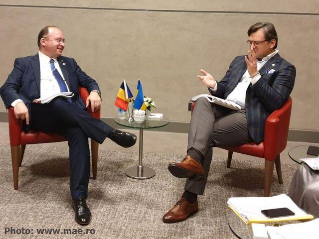 Богдан Ауреску провів зустріч з міністром закордонних справ України