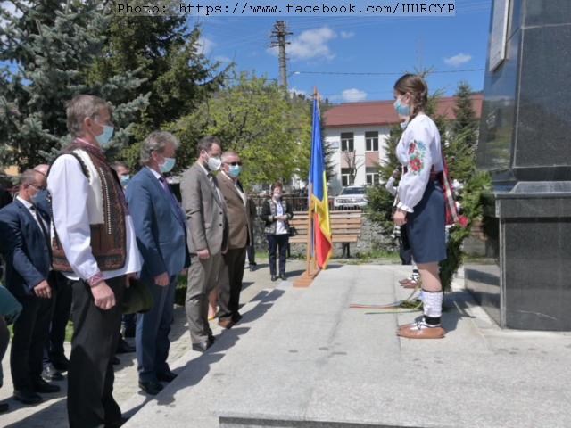 Українці Румунії вшанували пам'ять жертв та ветеранів війни