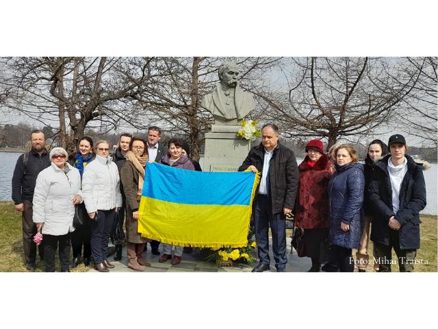 Вшанування пам'яті Тараса Шевченка в Сату Маре