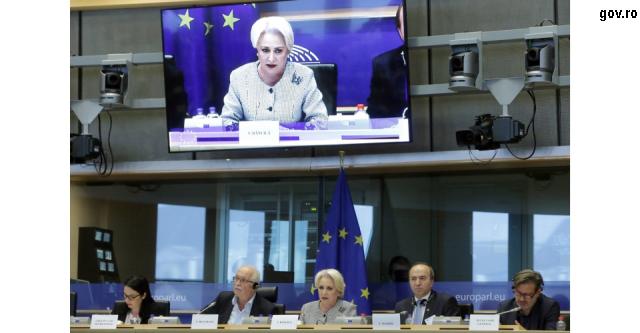 محادثات سياسية حول رومانيا في بروكسيل