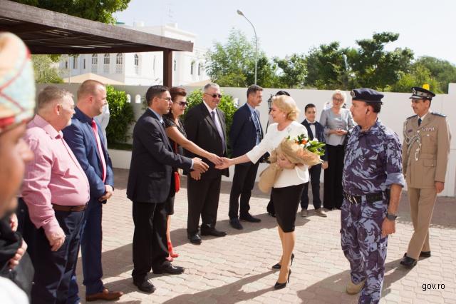 افتتاح السفارة الرومانية في سلطنة عمان