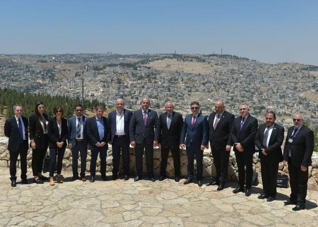 ביקורה של משלחת ועדת הביטחון של בית הנבחרים (הפרלמנט) בישראל