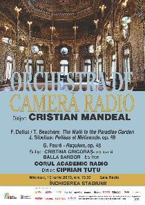 Închidere de stagiune pentru Orchestra de Cameră Radio