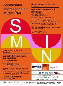Săptămâna Internaţională a Muzicii Noi - ediţia 29, la Sala Radio