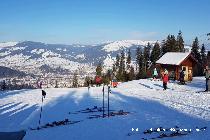 La schi în Bucovina