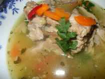 giblet-soup-and-aspic