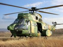 Elicopter al Forţelor Aeriene Române, avariat in Mali