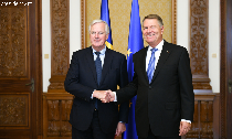 eu-chief-negotiator-for-brexit-in-bucharest