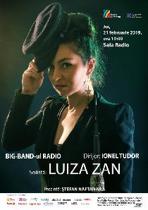 Jazz special: Luiza Zan şi Big Band-ul Radio
