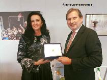 Întrevederea ministrului Natalia Elena Intotero cu comisarul european Johannes Hahn