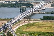 Circulaţie întreruptă pe podul Calafat-Vidin
