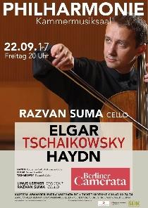 Violoncelistul Răzvan Suma concertează cu Berliner Camerata