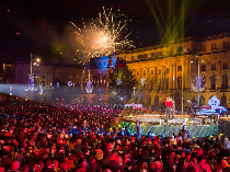 how romanians spent the new year's eve