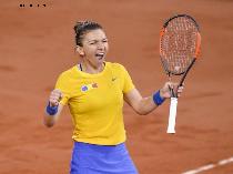 Simona Halep în finala de la Roma