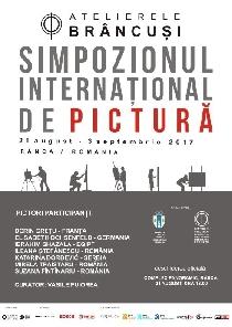 Deschiderea  Simpozionul Internațional de Pictură, Rânca, 2017